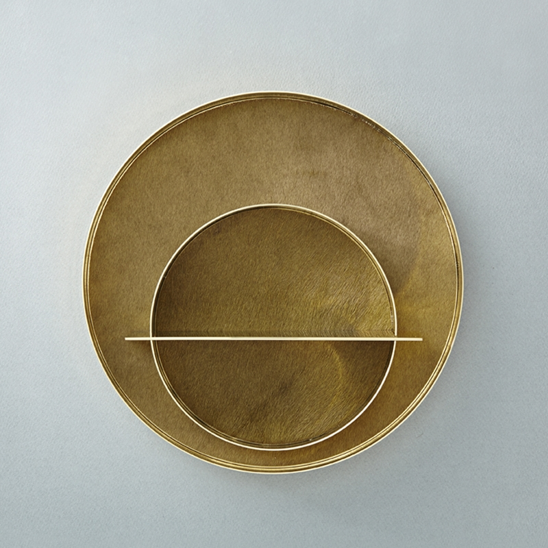 SATURN TRAY OLIVE SET
